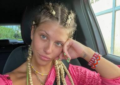 Selfie de Anita Matamoros a través de su cuenta de Instagram en Ibiza