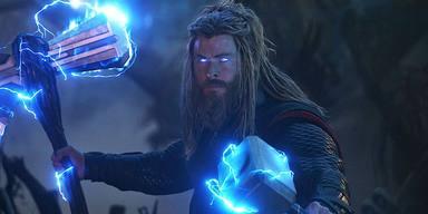 Thor (Chris Hemsworth) en 'Vengadores: endgame'