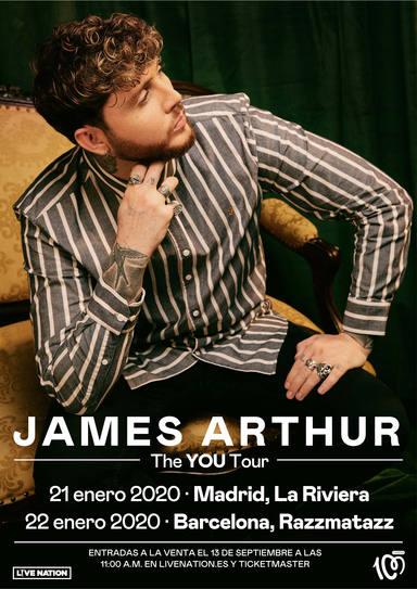 CADENA 100 presenta en concierto a James Arthur