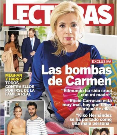 El ataque definitivo de Carmen Borrego a Bigote Arrocet tras la ruptura con María Teresa: es cruel y cobarde