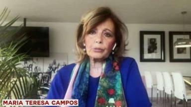 María Teresa Campos en 'Conversaciones en fase zero'