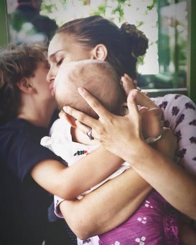 Natalie Portman comparte una imagen de sus hijos