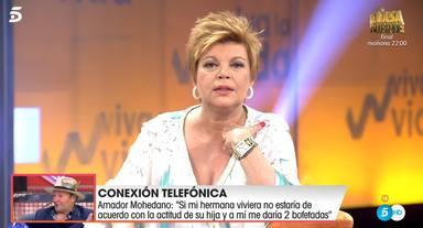 Terelu habla con Amador