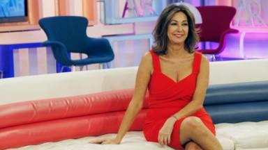 Ana Rosa en el plató de su programa