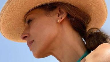 Eva González durante las vacaciones