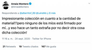 Amaia Montero y Leire Martínez enfrentamiento