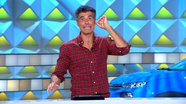 Jorge Fernández reacciona al error ortográfico de un concursante de La ruleta