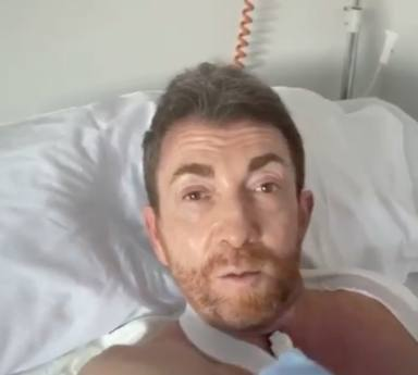 Pablo Motos manda un mensaje desde el hospital