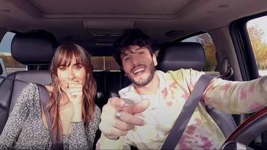 Aitana y Sebastián Yatra suben a un coche para hacer un 'Carpool Karaoke', pero sin James Corden