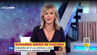 Susanna Griso abandona sin previo aviso Espejo Público en pleno directo para acudir a un centro médico