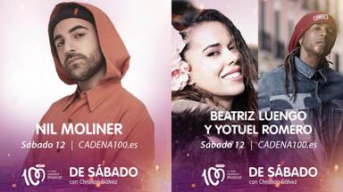 Nil Moliner, Beatriz Luego y Yotuel estarán en 'De Sábado con Christian Gálvez' de CADENA 100