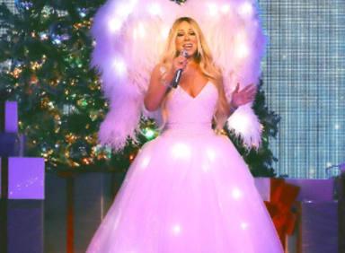 Así ha encendido la Navidad en MadridMariah Carey