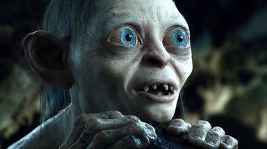 Gollum (Andy Serkis) en 'El señor de los anillos'