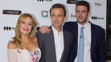 Ana Obregón, Alessandro Lequio y Alex Lequio