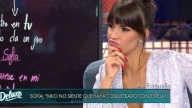 La dudable incredulidad de Sofía Suescun sobre el coqueteo de Kiko Jiménez y Estela Grande en 'GH VIP'