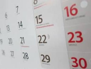 ¿Planejant unaescapada? Aquítens el calendari laboral de 2020