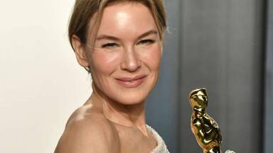 Renée Zellweger en con su Oscar