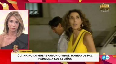 El desconsuelo de Lydia Lozano y María Patiño en Socialité