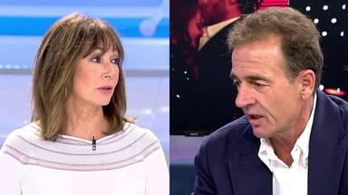 Tenso encontronazo entre Ana Rosa y Alessandro Lequio por Rocío Flores