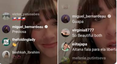 Aitana y los comentarios de su novio tras el directo con Katy Perry