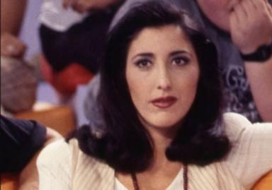 Paz Padilla en una imagen en Genio y figura, sus comienzos televisivos