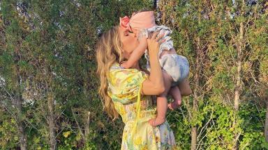 Rosanna Zanetti, una madre que se siente muy orgullosa de ver cómo crece a su hija Bianca