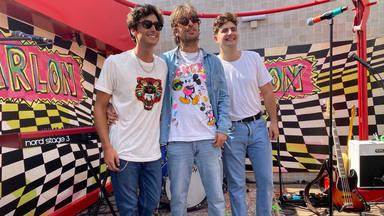 El grupo 'Marlon' en la presentación de su nuevo 'single', 'Chamberí' en una azotea de Madrid