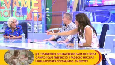 Carmen Borrego se desata en Sálvame y lanza una seria advertencia a Carmen Alcayde: ¿Te queda claro?
