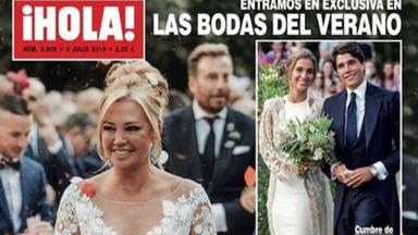 Del topo en la boda de Belén Esteban al enfado con una de sus compañeras