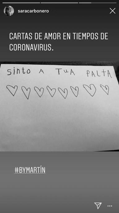 La carta de amor de Martín, el hijo de Iker Casillas y Sara Carbonero