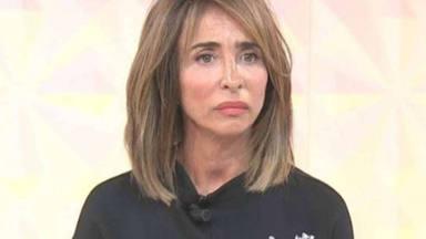 María Patiño, decepcionada en un plató de televisión