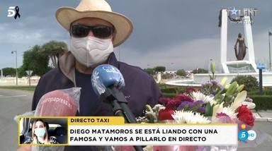 Amador Mohedano en el homenaje a su hermana el Día de Rocío Jurado en Chipiona