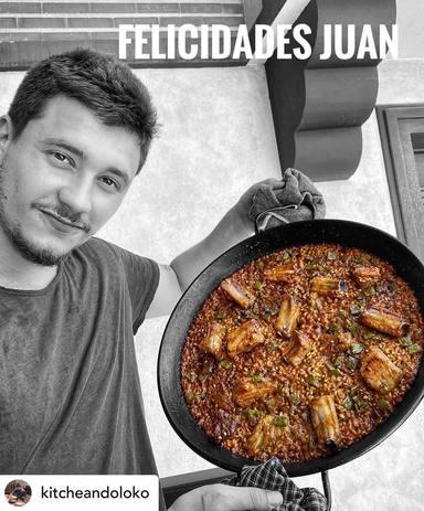 El hijo de Juan Echanove, cocinero
