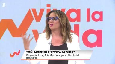Toñi Moreno la lía en su vuelta a 'Viva la vida'