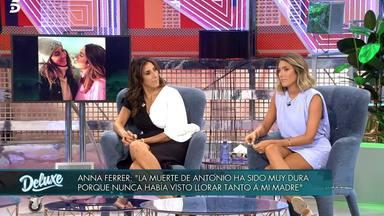 Anna Ferrer relata su experiencia tras la muerte del marido de Paz Padilla