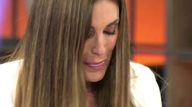 Isabel Rábago se rompe en directo tras la sorpresa de su hermana Fátima