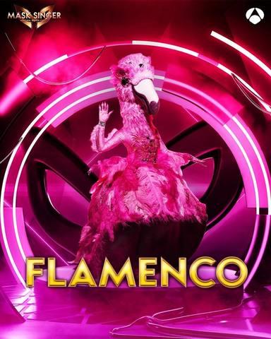 Flamenco, una de las máscaras de Mask Singer 2