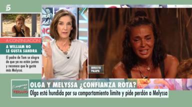 """""""Ya está bien"""": Joaquín Prat, harto, sale en defensa de Olga Moreno tras la última gran polémica"""