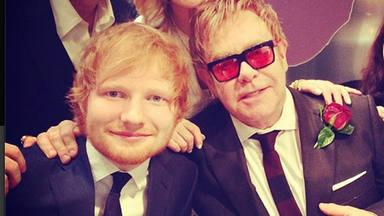 """Ed Sheeran confirma que junto a Elton John lanzará una canción navideña: """"En diciembre llegará"""""""