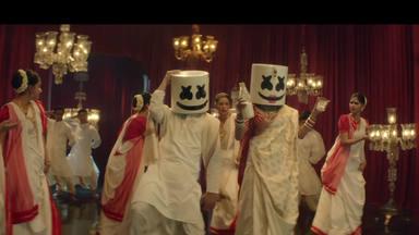 """Marshmello se va a Bombai y se convierte al Bollywood con """"BIBA"""""""