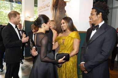 Beyoncé y Meghan Markle