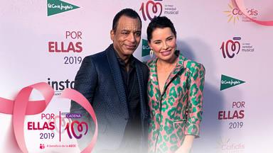 Jon Secada y Soraya en el photocall de CADENA 100 Por Ellas