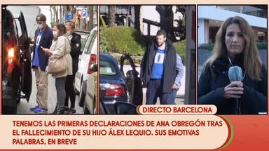 Alessandro Lequio ha escogido la ropa de su hijo Álex para despedirse de él