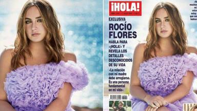 Rocío Flores guapísima en HOLA
