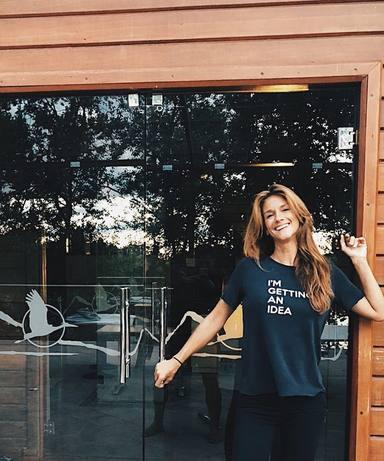 Elena Rodriguez, feliz de estar en casa