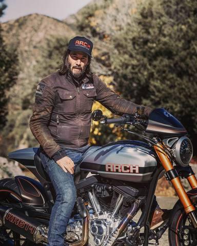 Keanu Reeves y su amor por las motos