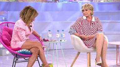 Maria Patiño y Mila cara a cara