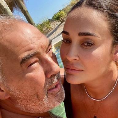 Vicky Martín Berrocal y Joao Viegas segundo aniversario de amor