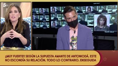 Nuria Marín tajante con Antoio David Flores
