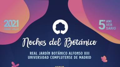 """Conoce el cartel de lujo de la edición 2021 de las """"Noches del Botánico"""""""